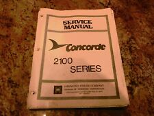 Hammond Concorde Service Manual