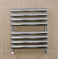 Stainless Steel Bathroom Radiator Horizontal Wall Hung Towel Rail 500 x 558mm