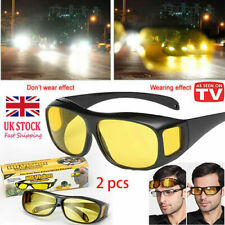 Polar-Tech - Night Vision HD Driving Glasses Polarized Yellow Lens Tinted Unisex