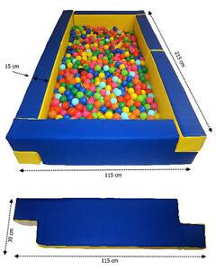 "Multi-BällebadPool Schaumstoff Pool für Bällebad Multi-Pool ""rechteck"""
