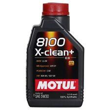 Motul 8100 X-clean PLUS 5W-30 1 LITRO ACEA C3, FIAT, PORSCHE, VW, MBW, MERCEDES