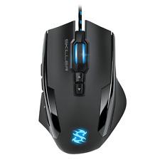 Sharkoon Skiller SGM1 Gaming Maus Makrotasten 10800 DPI RGB-Beleuchtung Schwarz
