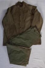Ensemble veste + pantalon de pluie imperméable US WW2 USA américain Rain