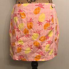 LILLY PULITZER Pink Skort (Skirt Shorts) - Size 6 - Oranges and Lemons
