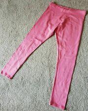 Girls Pink Leggings Age 10 Years