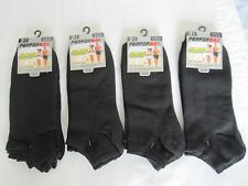"BNWT- 12 PRS ""PERFORMAX"" BLACK TRAINER SOCKS-SIZE 6-11 FREE POST UK ONLY"