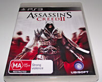 Assassin's Creed II PS3 PAL *Complete*
