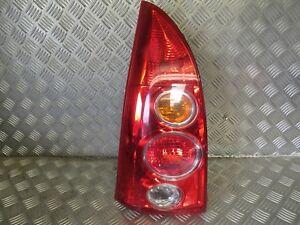2004 Mazda Premacy N/S (Passenger) Rear Light