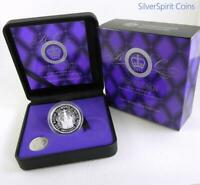 2012 DIAMOND JUBILEE OF ACCESSION Silver Proof Coin