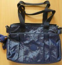 Kipling Divna Medium Shoulder Bag with Detachable Strap in Lacquer Indigo - Used