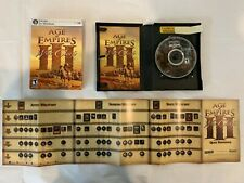 AGE OF EMPIRES III 3: THE ASIAN DYNASTIES EXPANSION PACK PC 2007 TESTED COMPLETE