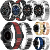 For Samsung Galaxy Watch 46mm Stainless Steel Smart Wristwatch Band Strap Belt