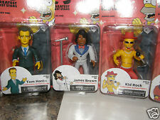 Neca The Simpson 25th Anniversary Greatest Guest Stars #series1 6 pc's
