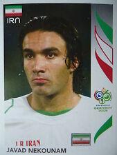 Panini 269 Javad Nekounam Iran FIFA WM 2006 Germany