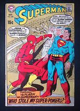 Superman #220 Silver Age DC Comics VG