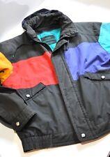 Vintage London Fog color block Mens jacket size Medium