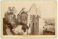 PHOTO Château de CHINON ensemble des ruines Indre et Loire