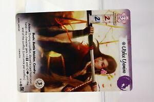 Legend of the Five Rings LCG Utaku Yumino Unicorn Clan Promo (U-B3S2 231006)