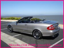 MERCEDES W209 CLK CONVERTIBLE/CABRIO REAR/BOOT SPOILER (2002-2009)