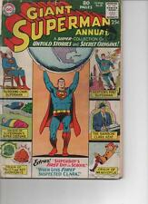 SUPERMAN ANNUAL 8  1963  GOOD PLUS RARE  GIANT 80 PAGES