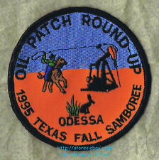 LMH Patch  1995 GOOD SAM CLUB Fall SAMBOREE Rally  Oil Well Round-up  ODESSA TX