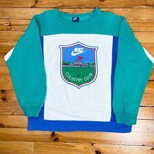 Vintage Ultra RARE 80s Nike Country Club Sweatshirt - Size XL