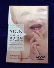 SIGN WITH YOUR BABY DVD - DR. JOSEPH GARCIA WORKS & HELPS!