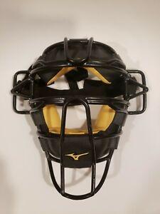 Mizuno Samurai Baseball Catcher's Mask - preowned Traditional Black/Tan