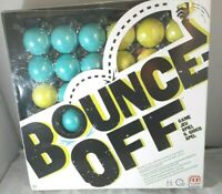 Bounce-Off Game Plastic Players Card Adults Board Family Fun Mattel Games