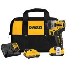 DeWALT DCF601F2 XTREME 12V MAX Brushless 1/4 Inch Cordless Screwdriver Kit