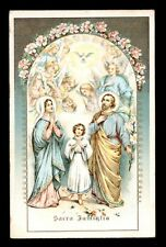 antica cartolina SACRA FAMIGLIA