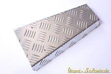 VESPA Riffelblech Durchstieg - Alu - PK / XL / XL2 - Fußmatte Chrom Aluminium