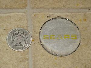 73 74 Sears Suburban ST16 st 16 Volante Centro Horn Piatto Tappo