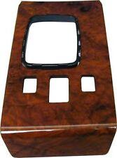 Holzverkleidung Mittelkonsole passend für Mercedes W107 Wurzelholz