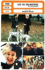 LES 101 DALMATIENS - Close,Daniels,Richardson(Fiche Cinéma)1996 - 101 Dalmatians