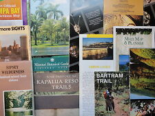 vintage road maps and tourist guides 1930's-1990's