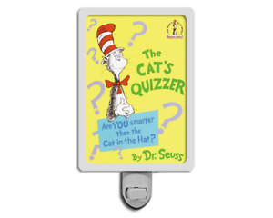 The Cat's Quizzer Dr. Seuss Cover Night Light