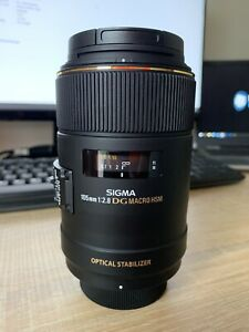 Sigma EX DG 105mm F/2.8 DG Lens For Nikon