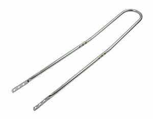 """Dragster Lowrider Bicycle Chrome 36"""" Long Back 3 Hole Sissy Bar"""