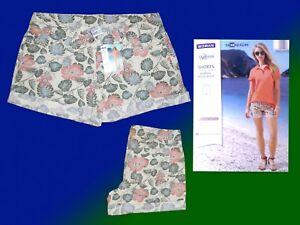 Damenshorts Bermuda kurze Hose Hot Pants Safarilook Gr. 36-44 S-XL  NEU