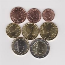 LUXEMBOURG 2017 FULL EURO SET : 1 CENT TO 2 EURO ALL HIGH GRADE UNCIRCULATED