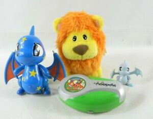 Neopets Toy Lot plush and Interactive toys 4 pcs. Shoyru Noil and Kugra Lot