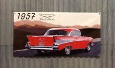 Large 1200mm X 600mm Shed, Man cave, Garage, Car Vinyl Banner. 57 CHEV BELAIR
