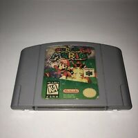 AUTHENTIC Nintendo 64 N64 Game SUPER MARIO 64 Fun SAVES Works Great TESTED