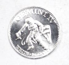 Gemini IV White McDivitt Man In Space Aluminum Token 26mm