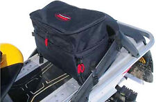 Snowmobile ATV Expandable Storage Tunnel Bag Water Resistant Black NEW
