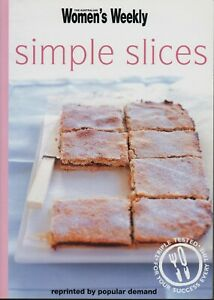 Women's Weekly - SIMPLE SLICES - Mini Cookbook - NEW CONDITION - FREE POST