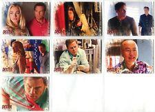 Verzamelkaarten, ruilkaarten Dexter Seasons 7 & 8 Complete Friends Or Foe Chase Card Set DF1-9