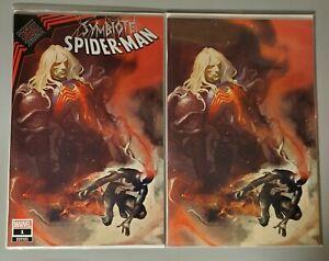 Symbiote Spider-Man KING IN BLACK #1 Gerald Parel Variant SET NM Knull