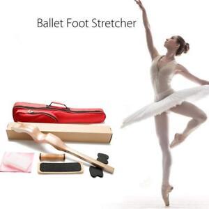 8PCs/set Ballet Foot Stretcher Wood Feet Arch Elastic Band Dance Gymnastics Yoga
